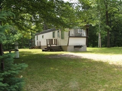 Tomahawk WI Single Family Home For Sale: $69,900