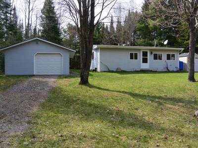 Minocqua WI Single Family Home Sold: $87,500