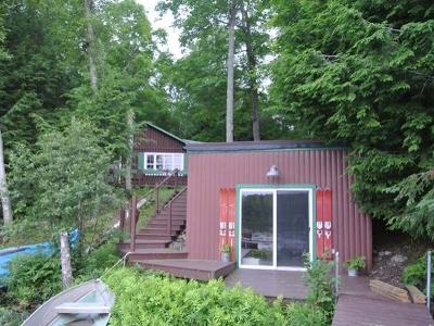 Lac Du Flambeau Single Family Home For Sale: 3385 Cth D