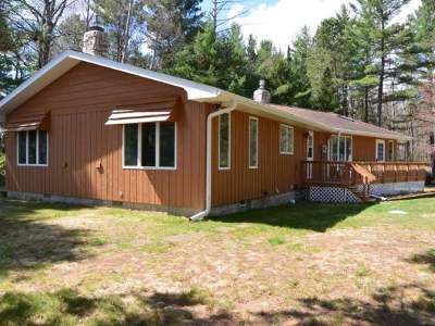 Lac Du Flambeau WI Single Family Home Sold: $269,000