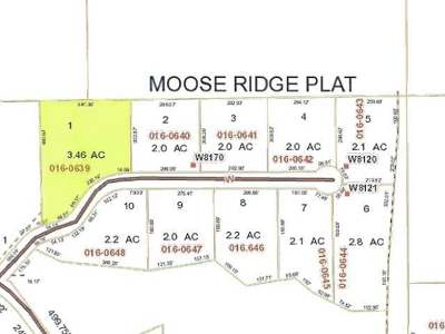 Residential Lots & Land For Sale: Lot 1 Moose Ridge Dr