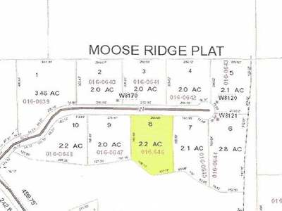 Residential Lots & Land For Sale: Lot 8 Moose Ridge Dr