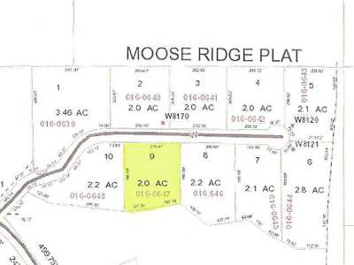 Residential Lots & Land For Sale: Lot 9 Moose Ridge Dr