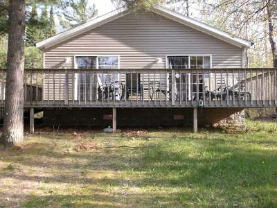 Forest County, Iron Wi County, Langlade County, Lincoln County, Oneida County, Vilas County Condo/Townhouse For Sale: 2823 Three Gs Dr #10