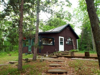 Langlade County Single Family Home For Sale: N9378 North Shore Rd