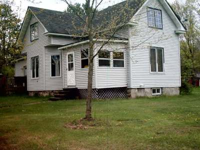 Park Falls Single Family Home For Sale: 263 Wisconsin St