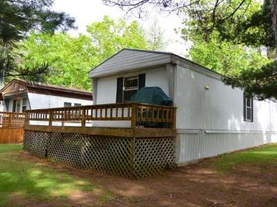 Minocqua WI Single Family Home Sold: $29,900
