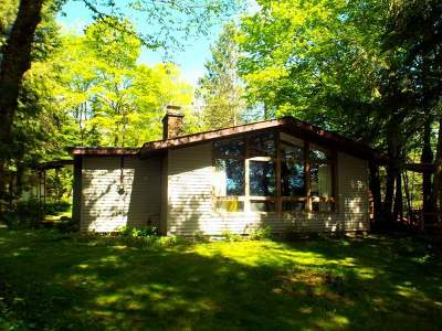 Forest County, Iron Wi County, Langlade County, Lincoln County, Oneida County, Vilas County Single Family Home For Sale: 4232 Cth W