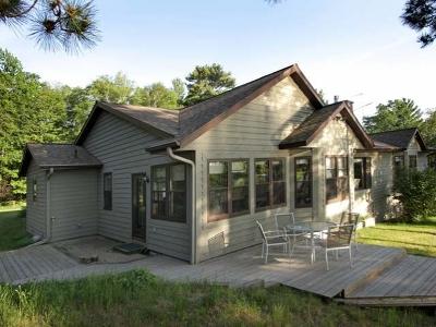 Sayner Single Family Home For Sale: 8190 Plum Lake Station Rd