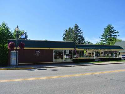 Three Lakes WI Commercial Active O/C: $179,000
