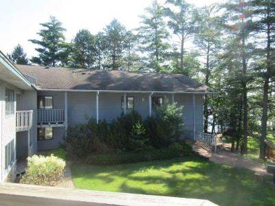 Forest County, Iron Wi County, Langlade County, Lincoln County, Oneida County, Vilas County Condo/Townhouse For Sale: 8250 Northern Rd #215