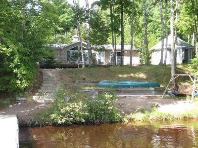 Minocqua Single Family Home For Sale: 7670 Stone Lake Rd