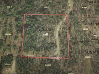Rhinelander Residential Lots & Land For Sale: Lot 14 Winding Way