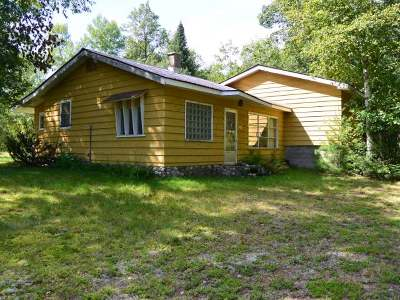 Minocqua WI Single Family Home Sold: $65,000