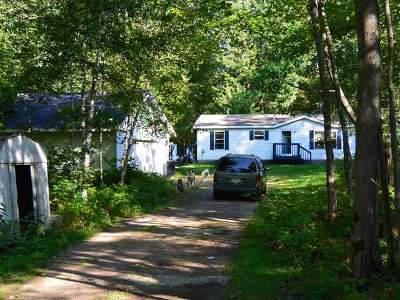 Minocqua WI Single Family Home Sold: $117,000