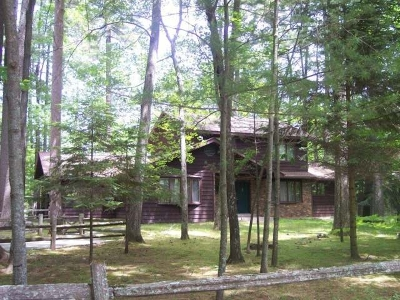 Minocqua Single Family Home Active O/C: 9320 Timberline Dr