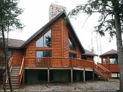 Forest County, Iron Wi County, Langlade County, Lincoln County, Oneida County, Vilas County Condo/Townhouse For Sale: 6584 Knuth Ln #Moose
