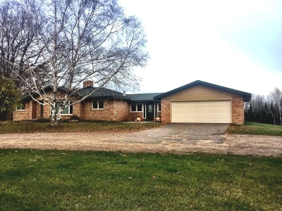 Gleason Single Family Home For Sale: N9867 Cth H