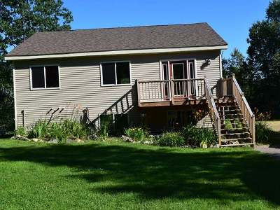 Forest County, Iron Wi County, Langlade County, Lincoln County, Oneida County, Vilas County Single Family Home For Sale: 6566 Round Lake Rd