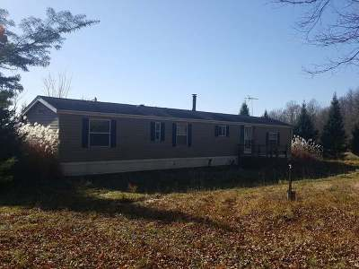 Single Family Home Sold: W13000 Stone Rd