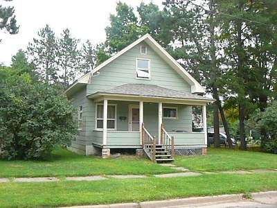 Park Falls Single Family Home For Sale: 366 Paddock Ave