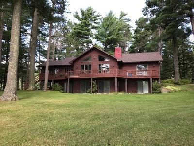 Manitowish Waters Single Family Home For Sale: 5920 Benson Lake Rd