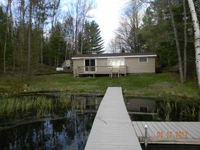 Forest County, Iron Wi County, Langlade County, Lincoln County, Oneida County, Vilas County Single Family Home For Sale: N7715 Typner Lake Rd