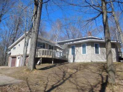 Summit Lake Single Family Home For Sale: N9371 Mill Rd