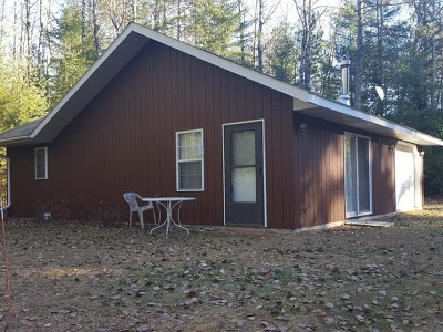 Forest County, Iron Wi County, Langlade County, Lincoln County, Oneida County, Vilas County Single Family Home For Sale: 8184 Somo Dam Dr