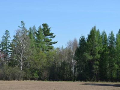 Oneida County, Lincoln County, Price County, Vilas County Residential Lots & Land For Sale: On Kaphaem Rd