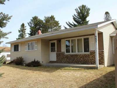 Eagle River Single Family Home For Sale: 527 Wisconsin St