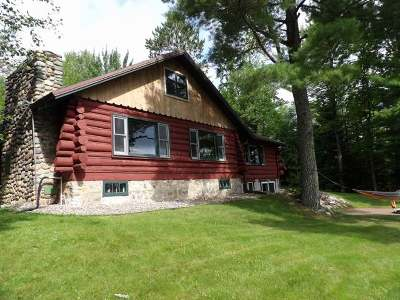 Elcho Single Family Home For Sale: N11381 Perch Lake Ln W
