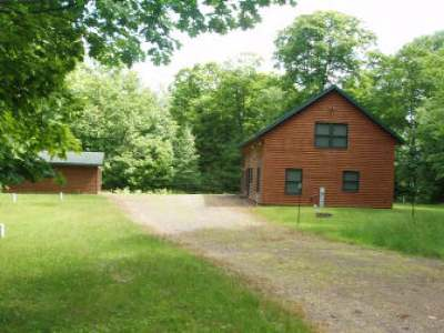 Park Falls Single Family Home For Sale: N14064 Pixley Wilderness Shores