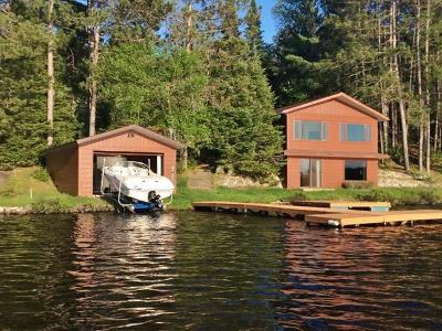 Three Lakes Single Family Home For Sale: 6689 Whitefish Lake Rd