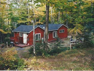 Forest County, Iron Wi County, Langlade County, Lincoln County, Oneida County, Vilas County Single Family Home For Sale: W11250 Loop Rd