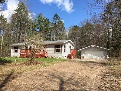 Lake Tomahawk Single Family Home For Sale: 6426 Pigeon Rd