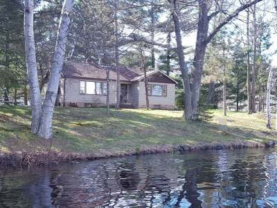Summit Lake Single Family Home For Sale: N9319 Mill Rd