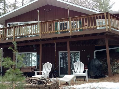 Three Lakes Single Family Home For Sale: 6685 Whitefish Lake Rd
