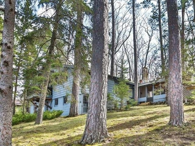 Minocqua Single Family Home Active O/C: 9254 Howards Point Rd