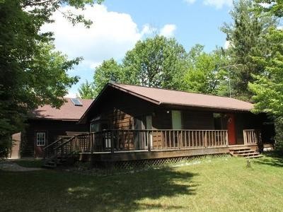 Minocqua Single Family Home Active O/C: 9395 Brinkland Ct