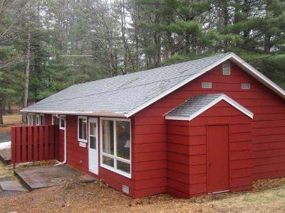 Forest County, Iron Wi County, Langlade County, Lincoln County, Oneida County, Vilas County Condo/Townhouse For Sale: 9845 Blue Island Bay Ln #A&B