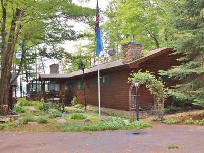 Lake Tomahawk WI Single Family Home For Sale: $339,000