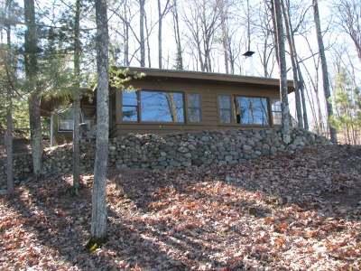 Three Lakes Single Family Home For Sale: 7571 Halverson Rd #B