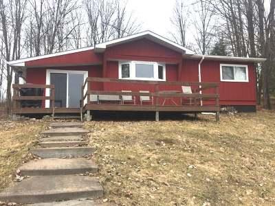 Deerbrook Single Family Home For Sale: W10378 Borth Lake Rd