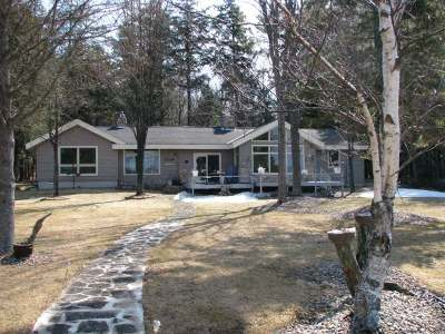 Three Lakes Single Family Home For Sale: 7679 Four Mile Creek Rd