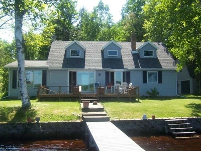 Langlade County Single Family Home For Sale: N8951 South Shore Ln