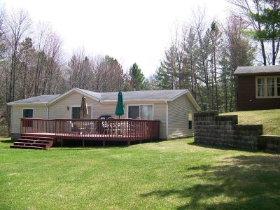 Forest County, Iron Wi County, Langlade County, Lincoln County, Oneida County, Vilas County Single Family Home For Sale: 1750 Hillcrest Rd