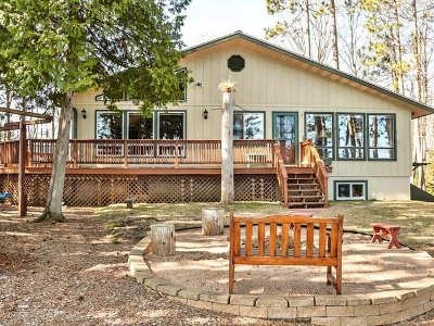 Three Lakes Single Family Home For Sale: 1713 Maple Lake Dam Rd
