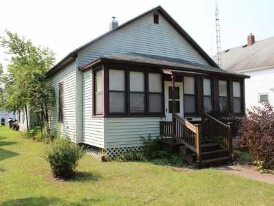 Tomahawk Single Family Home For Sale: 16 Spirit Ave E