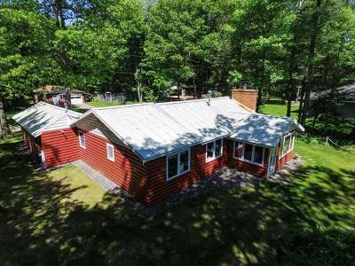 Three Lakes Single Family Home For Sale: 8232 Hull Rd